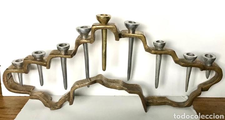 CANDELABRO DISEÑO DAVID MARSHALL (Arte - Escultura - Otros Materiales)
