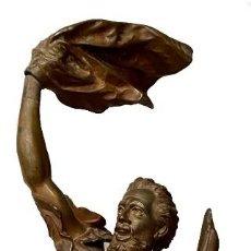 Arte: FIGURA DE NÁUGRAFO TITULADA, DETRESSE. ARTHUR WAAGEN ( 1833-1898 ). 90X23X22. Lote 265141809
