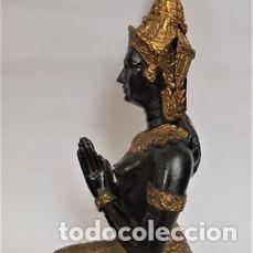 ESTATUA (1) - BRONCE - TAILANDIA - MITAD DEL SIGLO XX (Arte - Escultura - Otros Materiales)