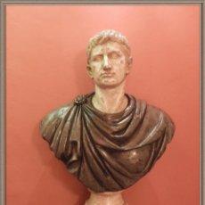 Arte: FANTASTICA ESCULTURA DE MARMOL DE EMPERADOR ROMANO CIRCA S. XVII. Lote 267482409