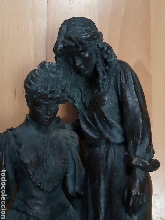 """ESCULTURA """"GENERACIONES"""" OBRA DEL ESCULTOR JOSEP BOFILL EDICIÓN NUMERADA. VER DESCRIPCIÓN (Arte - Escultura - Otros Materiales)"""