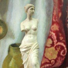Arte: ESCULTURA VENUS DE MILO POR A. SANTINI. 40CM. Lote 271868693