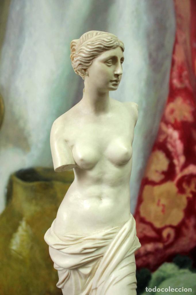 Arte: Escultura Venus de Milo por A. Santini. 40cm - Foto 2 - 271868693