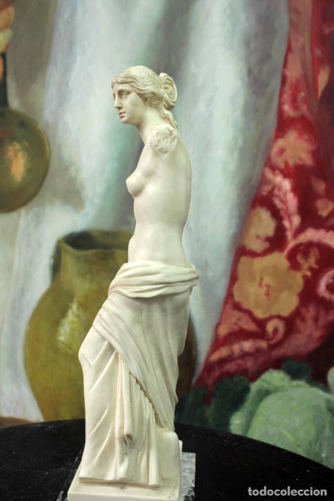 Arte: Escultura Venus de Milo por A. Santini. 40cm - Foto 4 - 271868693