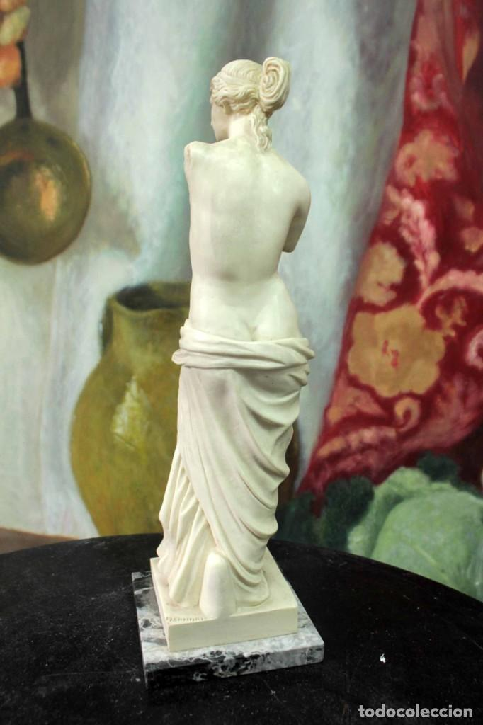Arte: Escultura Venus de Milo por A. Santini. 40cm - Foto 5 - 271868693
