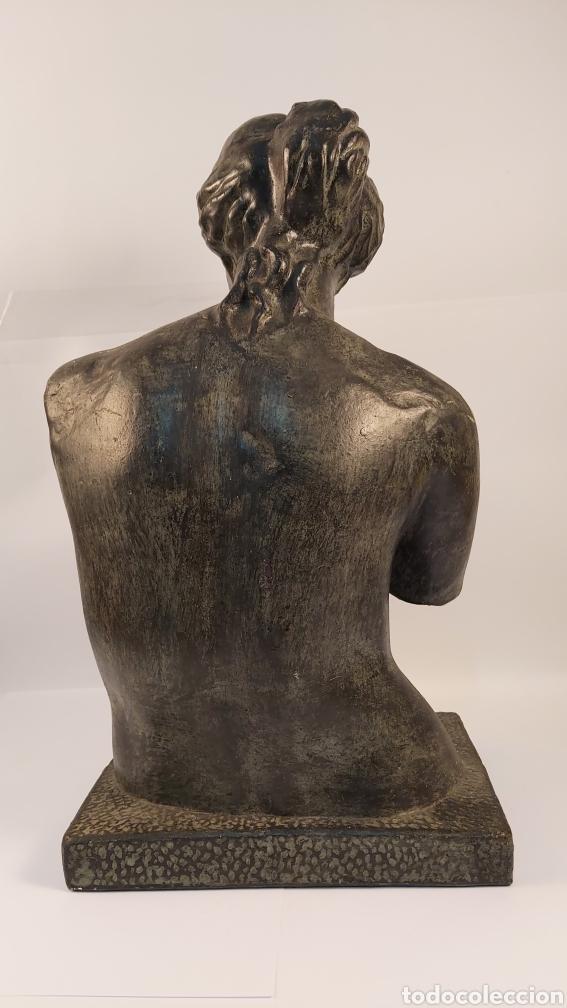 Arte: FIDEL AGUILAR MARCO (GERONA 1894-1917) VENUS DE MILO. ESCULTURA EN CERÁMICA ARGERATA DE QUART - Foto 4 - 277152883