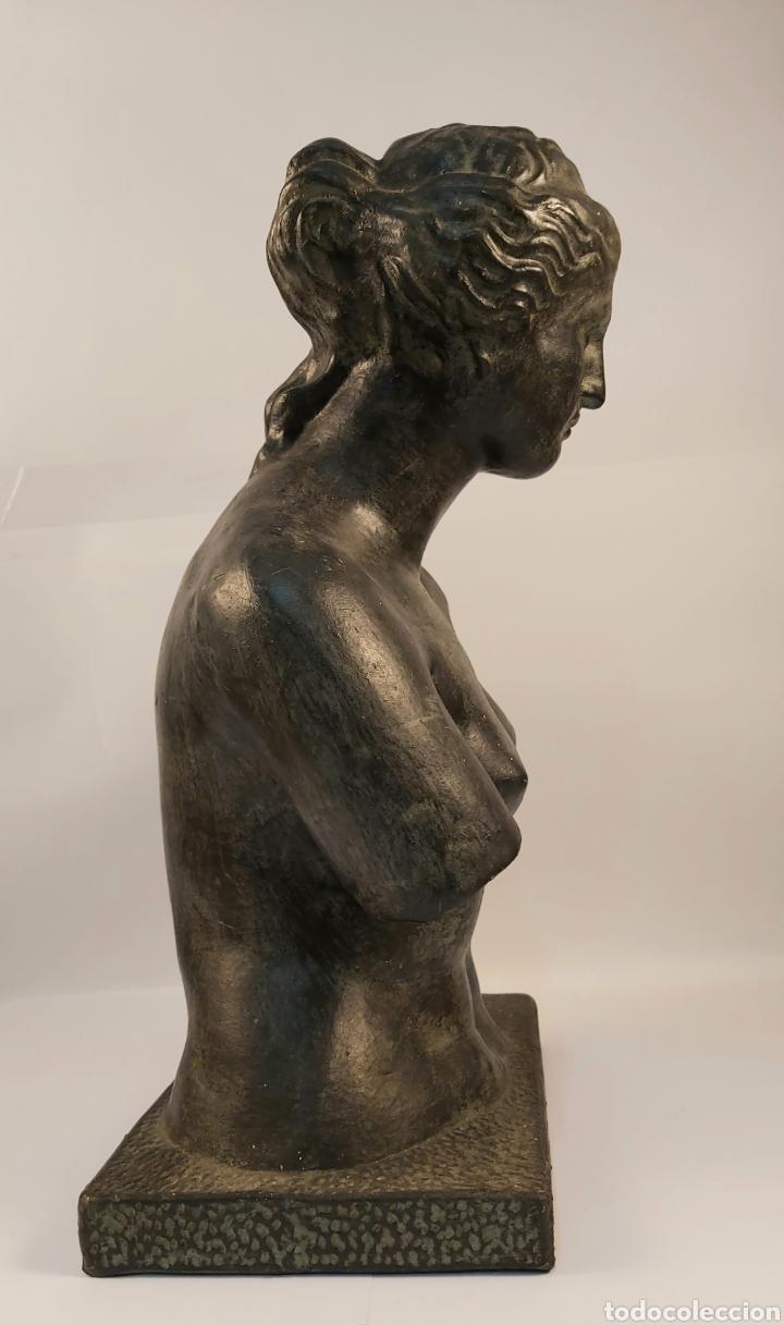 Arte: FIDEL AGUILAR MARCO (GERONA 1894-1917) VENUS DE MILO. ESCULTURA EN CERÁMICA ARGERATA DE QUART - Foto 5 - 277152883