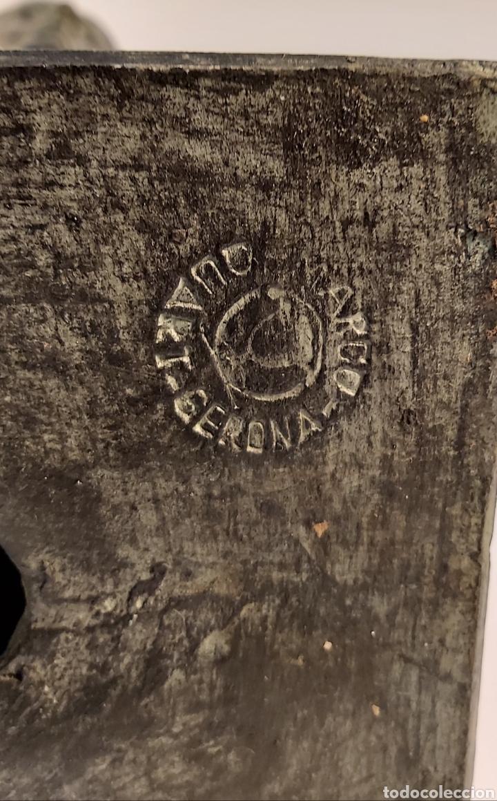 Arte: FIDEL AGUILAR MARCO (GERONA 1894-1917) VENUS DE MILO. ESCULTURA EN CERÁMICA ARGERATA DE QUART - Foto 7 - 277152883