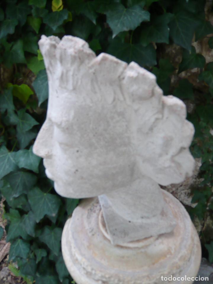 Arte: BUSTO ROSTRO HOMBRE JOVEN - ARTE CLASICO - TAMAÑO NATURAL - MODELO DE ESTUDIO - Foto 8 - 277287203