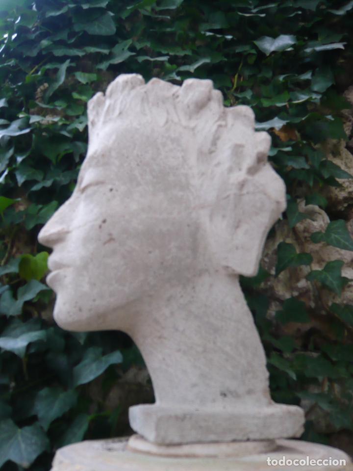 Arte: BUSTO ROSTRO HOMBRE JOVEN - ARTE CLASICO - TAMAÑO NATURAL - MODELO DE ESTUDIO - Foto 9 - 277287203