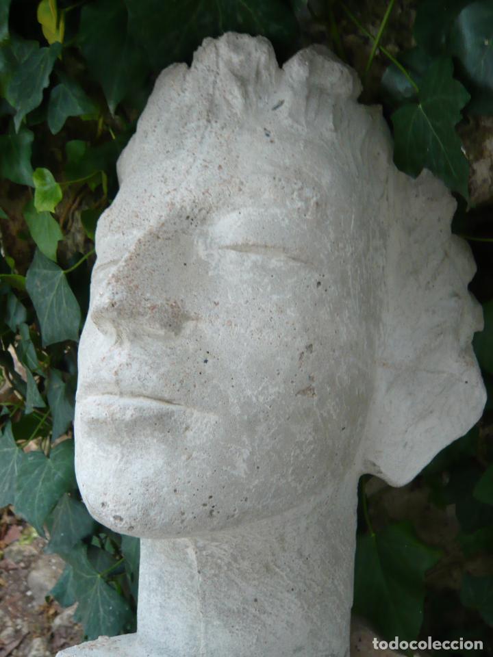 Arte: BUSTO ROSTRO HOMBRE JOVEN - ARTE CLASICO - TAMAÑO NATURAL - MODELO DE ESTUDIO - Foto 11 - 277287203