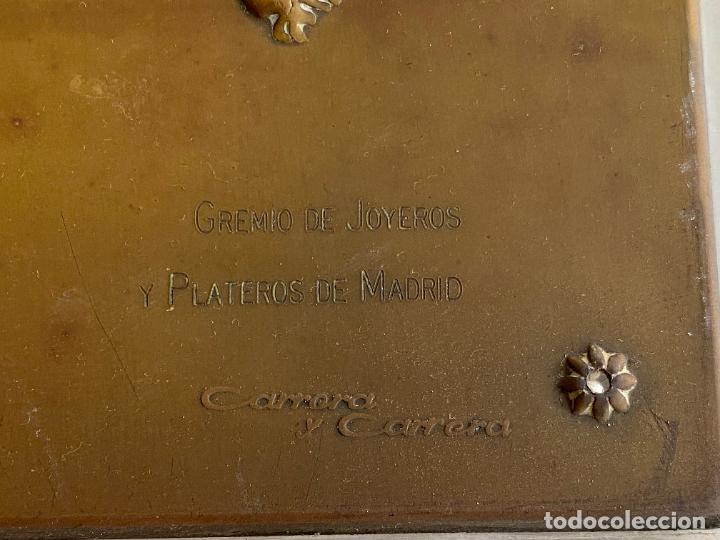 Arte: PLACA DE MARIANO BERTUCHI POR CARRERA Y CARRERA A GUILLERMO PEREZ VILLALTA , 1986 - Foto 4 - 277573753