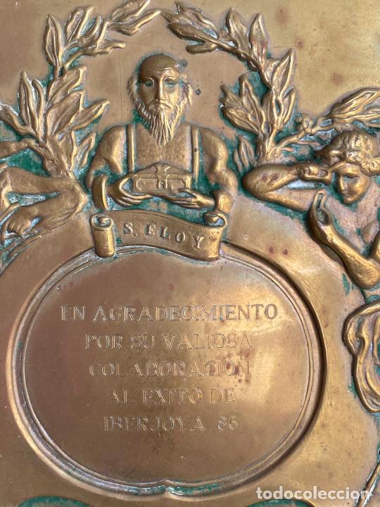 Arte: PLACA DE MARIANO BERTUCHI POR CARRERA Y CARRERA A GUILLERMO PEREZ VILLALTA , 1986 - Foto 11 - 277573753