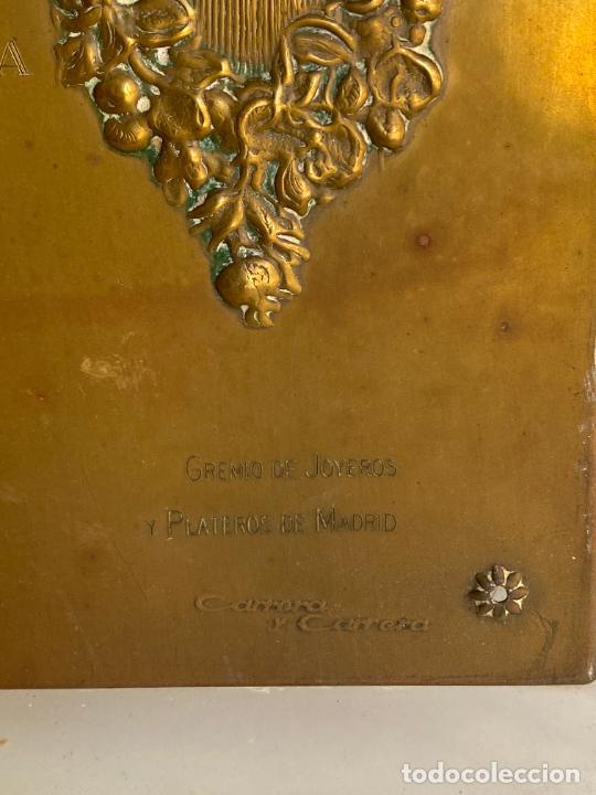 Arte: PLACA DE MARIANO BERTUCHI POR CARRERA Y CARRERA A GUILLERMO PEREZ VILLALTA , 1986 - Foto 12 - 277573753