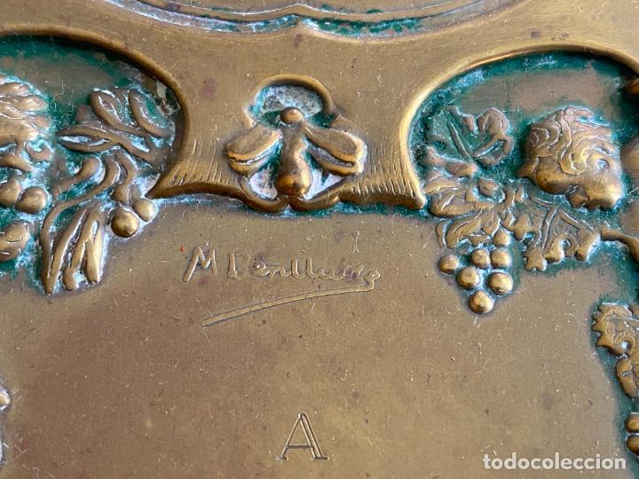 Arte: PLACA DE MARIANO BERTUCHI POR CARRERA Y CARRERA A GUILLERMO PEREZ VILLALTA , 1986 - Foto 17 - 277573753