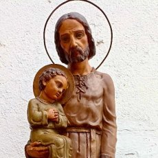 Art: GRAN SAN JOSE. PRINCIPIOS DE SIGLO. TIPO OLOT. 1 METRO DE ALTURA.. Lote 287487068