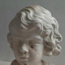 Arte: PRECIOSO Y ANTIGUO BUSTO MODERNISTA -TALLER DE ARTISTA . 1910. Lote 287789938
