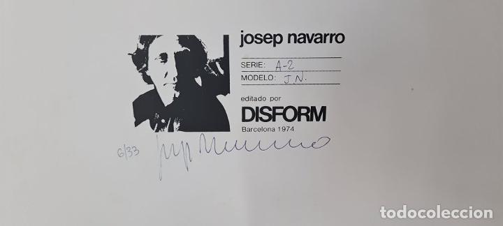 Arte: ESCULTURA EN METAL ESMALTADO. JOSEP NAVARRO. DISFORM. SERIE A-2. BLANCO. 1974. - Foto 8 - 288648828