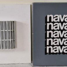 Arte: JOSEP NAVARRO. ESCULTURA MODULAR OSCILANTE. METAL ESMALTADO. DISFORM. 1974.. Lote 289204643