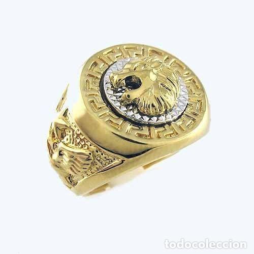 Anillos sello de oro 18 kilates