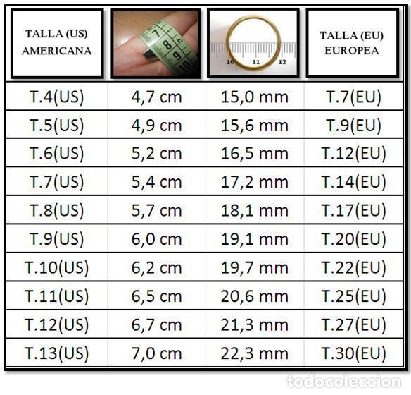 Artesanía: ANILLO EN PLATA 925 (SILVER FILLED) CON RUBÍ CULTIVADO - T.9 (US) ** EL COFRE DE GRACE ** - Foto 5 - 256061040