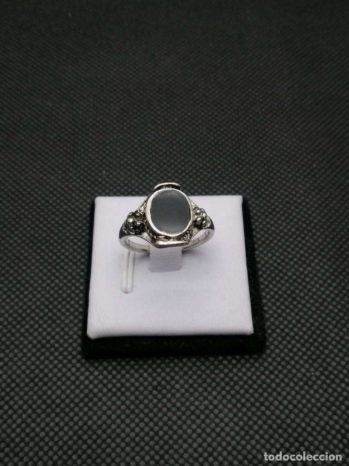 Artesanía: Anillo chapado en acero estilo bohemio. - Foto 2 - 257535350