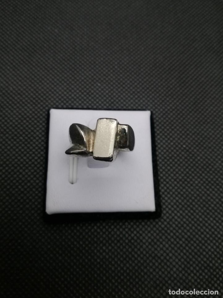 Artesanía: Anillo chapado en acero estilo bohemio. - Foto 4 - 257535935