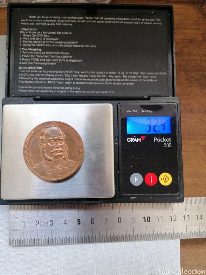 Artesanía: Medalla 1871 de bronce de los Estados alemanes, ejército aleman. Muy bonita y bien cuidada - Foto 3 - 288449173