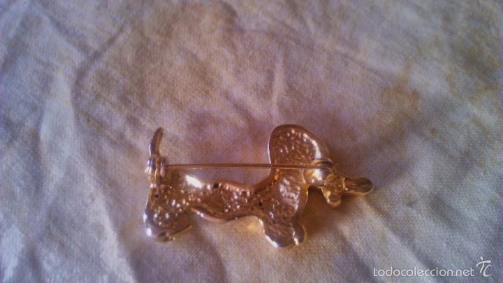 Artesanía: Precioso broche en forma de perro salchicha con brillantitos. - Foto 2 - 56524257