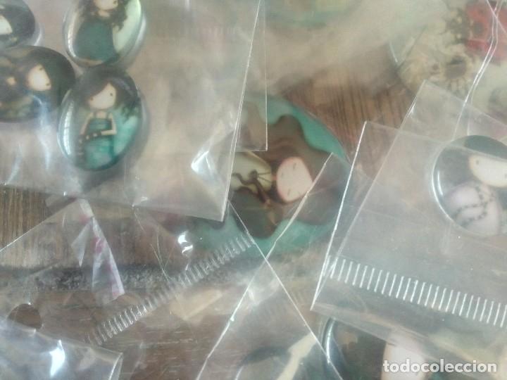 Artesanía: mas de 200 piezas tipo gorjus para broches ,colgantes etc... - Foto 2 - 161370094