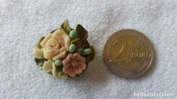 Artesanía: Broche de artesanía de miga de pan - Foto 2 - 172813224