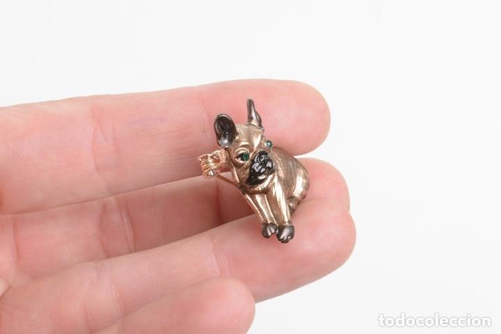 Artesanía: Precioso broche de perro, broche bulldog francés, broche frenchie - Foto 7 - 176053970