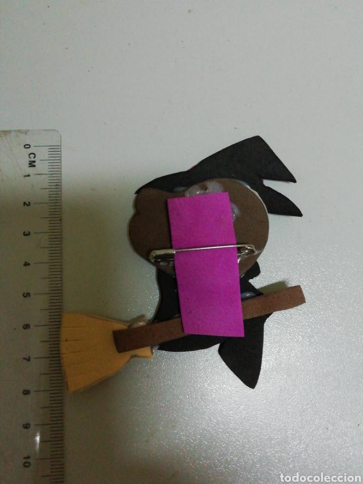 Artesanía: Broche de bruja en goma eva artesanía - Foto 2 - 178283046