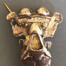 Artesanía: BROCHE COLGANTE DE LOS INDIOS GUMA, PANAMA. Lote 192619797