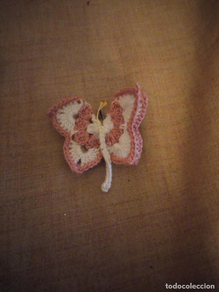 Artesanía: Precioso broches forma de mariposa hechos de ganchillo. - Foto 6 - 198149501