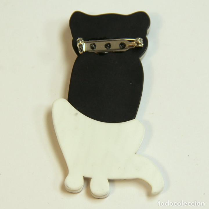 Artesanía: Broche de gato al gusto de Lea Stein - Foto 2 - 206295108