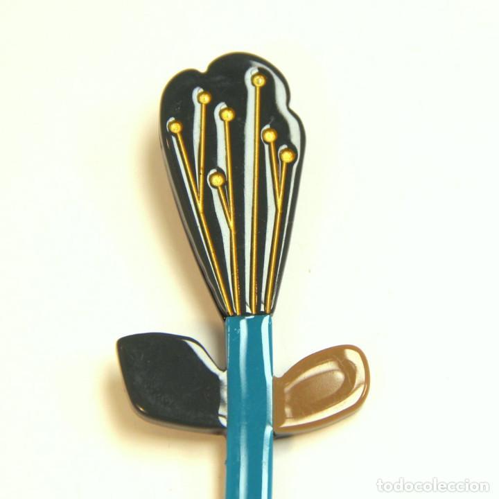 Artesanía: Broche de flor al gusto de Lea Stein - Foto 2 - 206295261
