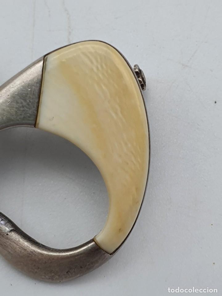 Artesanía: BROCHE VINTAGE ( 4 X 2,5 CM ) - Foto 2 - 240598280