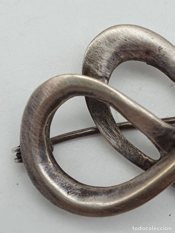 Artesanía: BROCHE VINTAGE ( 4 X 2,5 CM ) - Foto 4 - 240598280