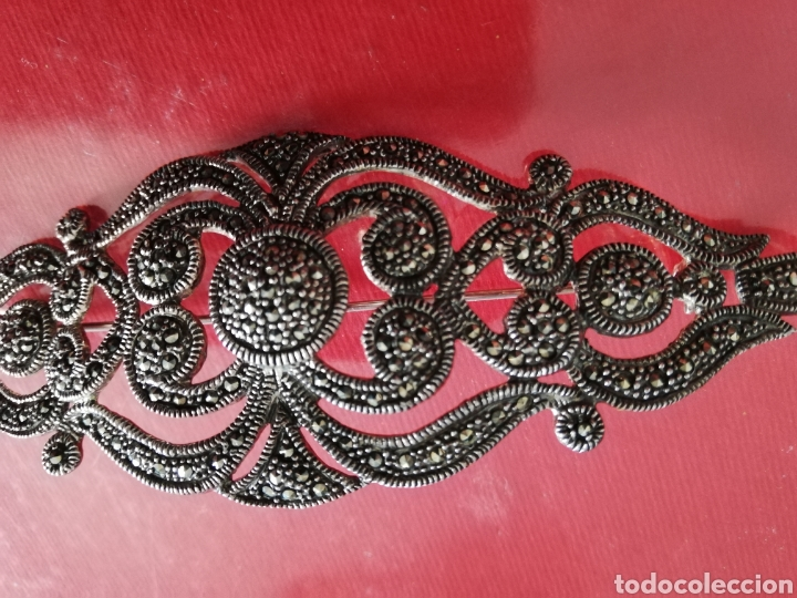 Artesanía: Broche de plata vieja (10x4 cms) - Foto 3 - 244993670