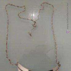 Artesanía: COLLAR DE PLATA. Lote 53710640