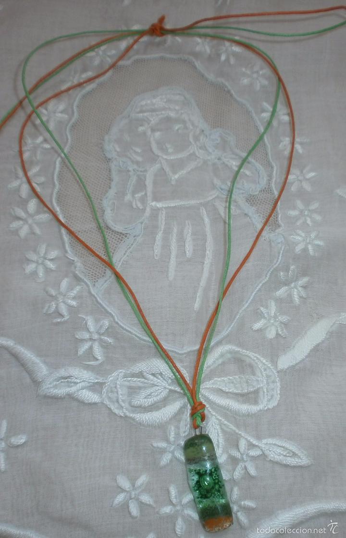 Artesanía: A21 Collar cristal -rectángula - adaptable hasta 35/37cm - Foto 2 - 56172314