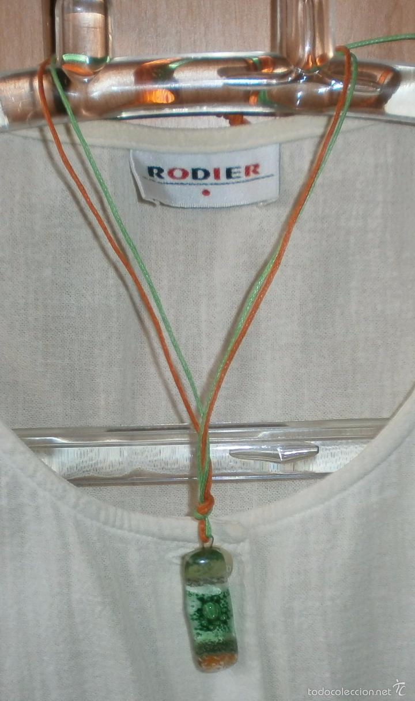 Artesanía: A21 Collar cristal -rectángula - adaptable hasta 35/37cm - Foto 3 - 56172314