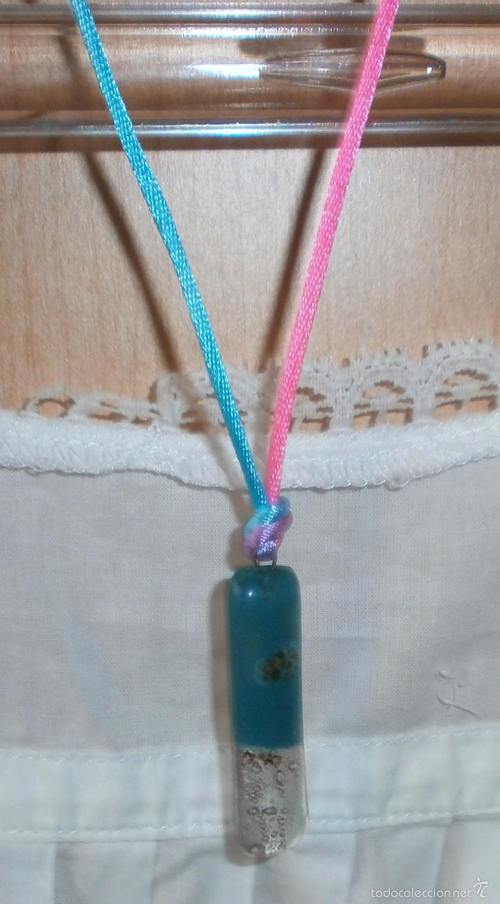 Artesanía: A16 Collar corto / gargantilla cristal -rectangular - cierre omega - Foto 3 - 56172994