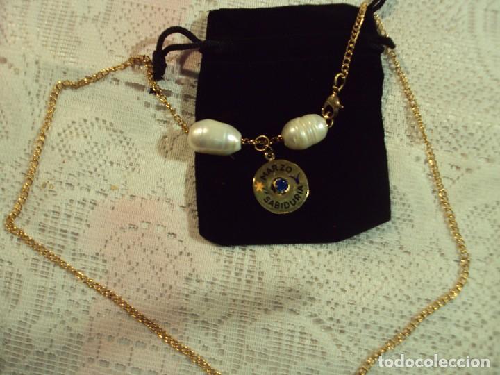 88e895e5473c collar perlas cultivadas y medalla
