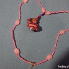 Artesanía: ARTESANIA. ORIGINAL COLLAR DE PERLAS Y CARACOLAL.. Lote 101416359