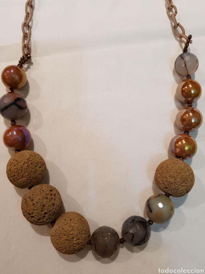 COLLAR ARTE MINERAL (Artesanía - Collares)