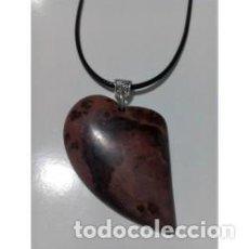 Artesanía: COLLAR PIEDRA NATURAL JASPE ESCÉNICO MODELO 1. Lote 137353682