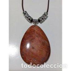 Artesanía: COLLAR PIEDRA NATURAL JASPE ESCÉNICO MODELO 2. Lote 137353758