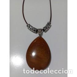 COLLAR PIEDRA NATURAL JASPE ESCÉNICO MODELO 3 (Artesanía - Collares)